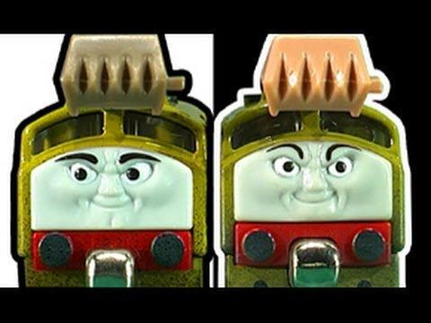 Thomas And Friends Diesel 10 Talking Take N Play Vs Take Along Face Off