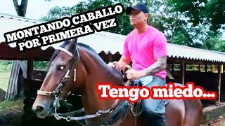 MONTANDO CABALLO POR PRIMERA VEZ!!! - Hablame_menor