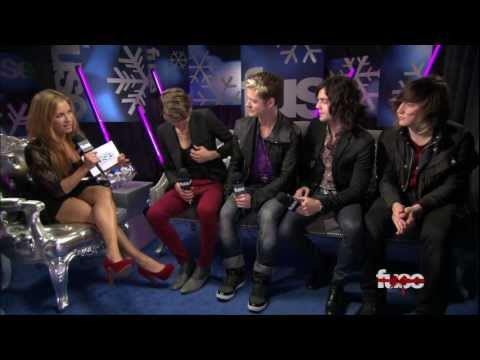Hot Chelle Rae Interview - Jingle Ball 2011