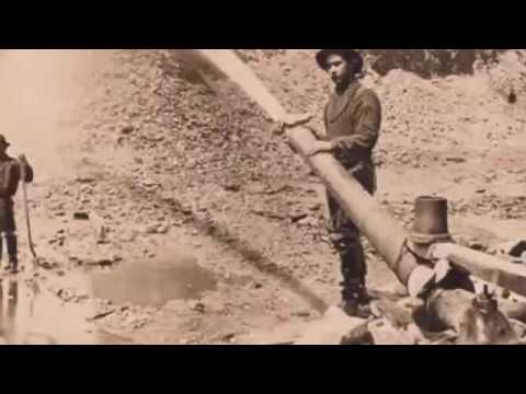 Hydraulic Gold Mining In The Old West