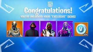 Comment ''UNLOCK'' Skins exclusifs dans Fortnite 'UPDATED' 2019 Guide!