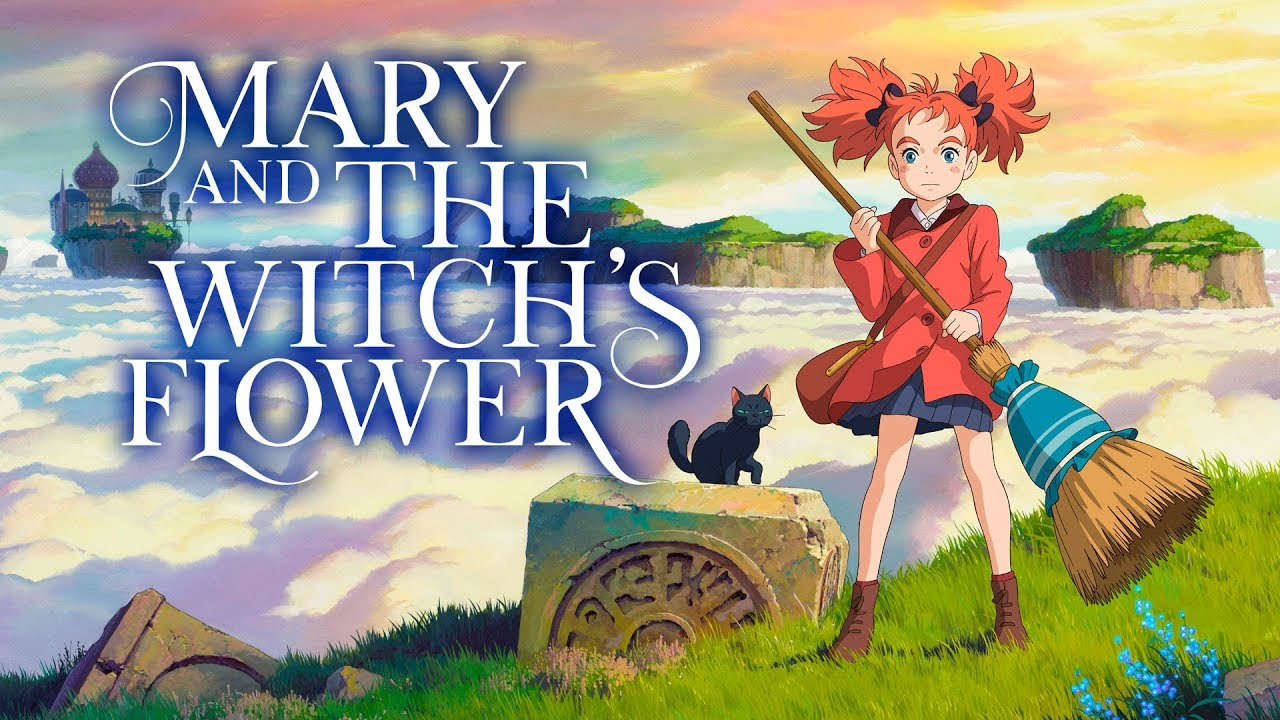 Mary And The Witchs Flower Official Trailer Youtube