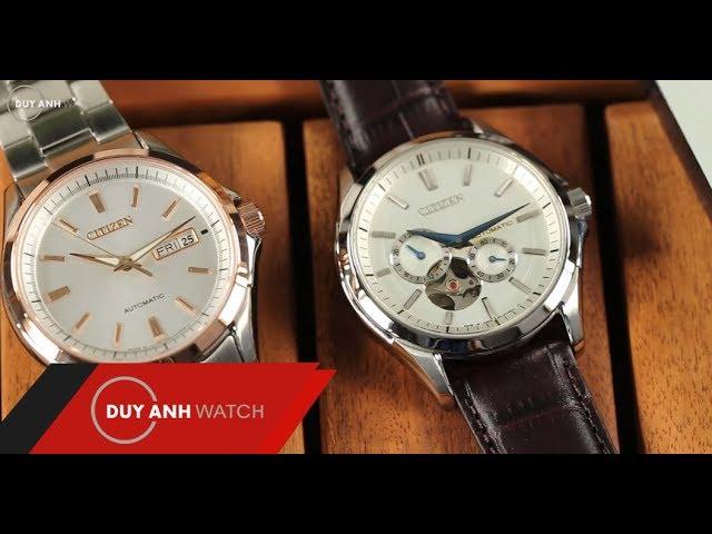 Review số 39 - Đồng hồ Citizen Mechanical NP1010-01A và NP4044-53A - Cặp đôi hoàn hảo