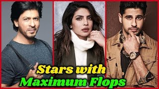 10 Bollywood Actors with Maximum Flop movies