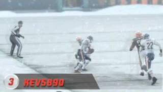 Madden NFL 11 Top 5- Snow Games