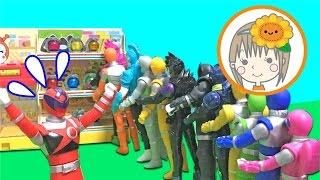 キュウレンジャー エグゼイド おもちゃ コンビニ キュータマ お買い物ごっこ thumbnail