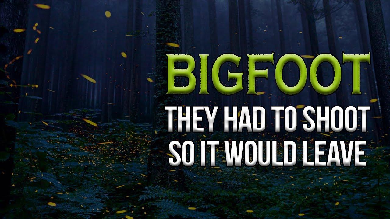 Shooting at Bigfoot