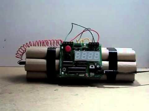 c99929a3171f Despertador Bomba Factoriaderegalos.com - YouTube