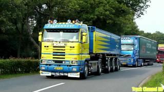 Zeldenrust Scania 143H 450 V8 - Intocht Truckstar Festival