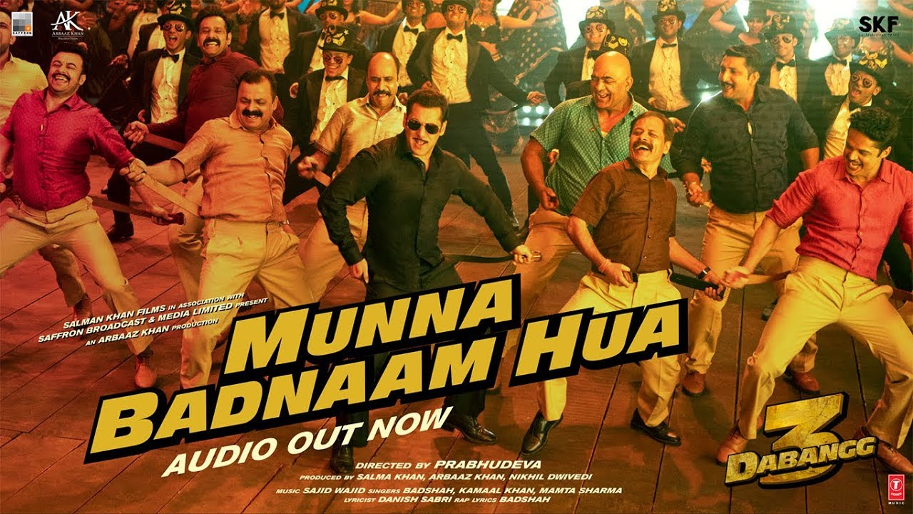 Image result for munna badnaam hua""