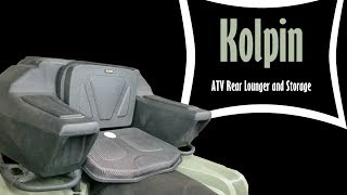 ATV Rear Seat Review - Kolpin ATV Rear Helmet Box