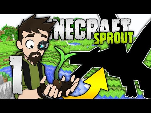 THERE BE DRAGONS?! | Minecraft Sprout | RPG Minecraft Modpack | #1