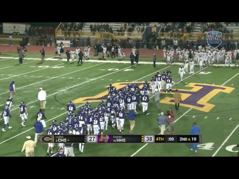Covington High School vs. Hahnville High School Football (2017 Quarterfinals)