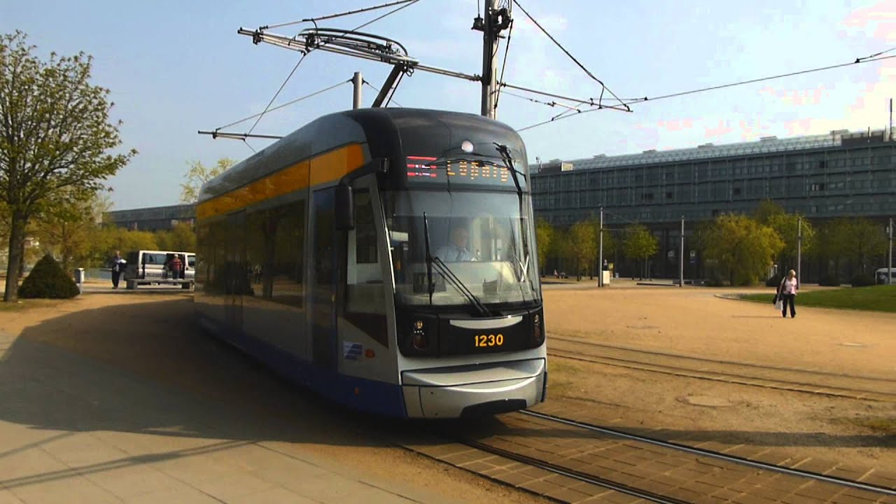 ngt12 lei classicxxl nr 6 der lvb als linie 16 the light rail tram of leipzig youtube. Black Bedroom Furniture Sets. Home Design Ideas