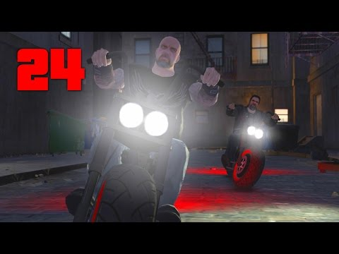 Jahova Plays Grand Theft Auto 4 - Episode 24 (Another Mission On The Train Tracks...)