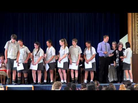 Year 9 prize giving