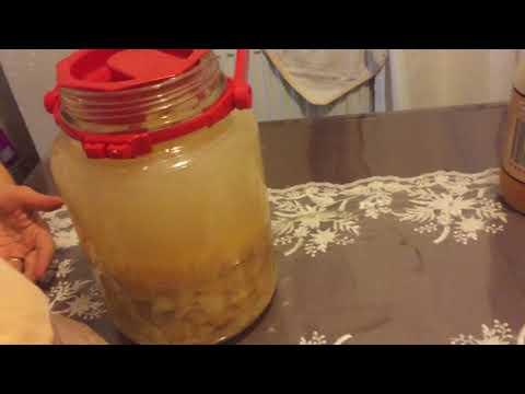 Evde Sağlıklı Elma Sirkesi Yapımı /Melekce