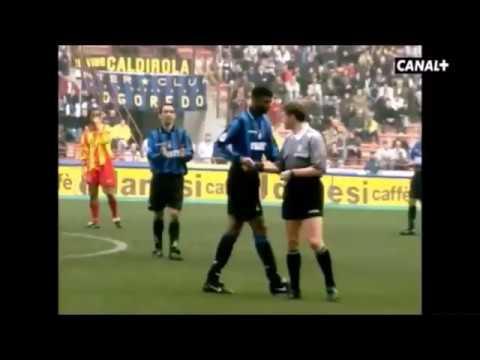 Nwankwo Kanu en el Inter. Años 1996-1999