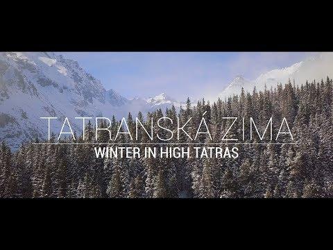 High Tatras in Winter - Slovakia | DJi mavic pro cinematic