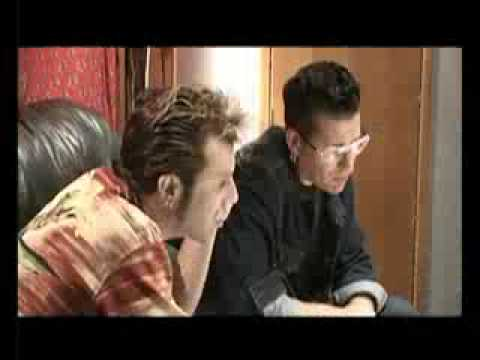 STRAY CATS - SLIM JIM PHANTOM , LEE ROCKER , BRIAN SETZER IN THE STUDIO
