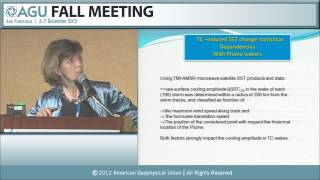 OS12C. Science Results From the Aquarius and SMOS Ocean Salinity Missions II - 2012 AGU Fall Meeting