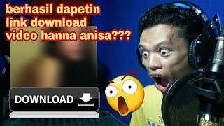 INIKAH LINK VIDEO HANNA ANISA ????