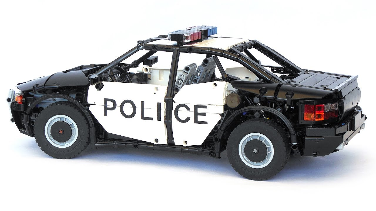 lego technic police interceptor youtube. Black Bedroom Furniture Sets. Home Design Ideas