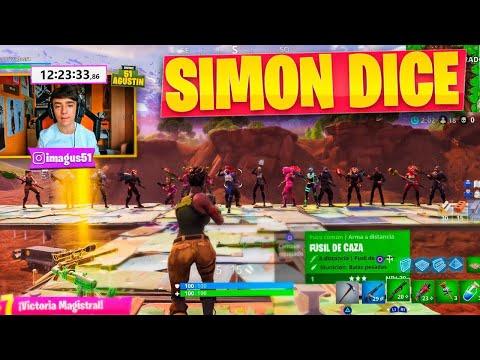 SIMON DICE 2 en FORTNITE: Battle Royale!! - Agustin51