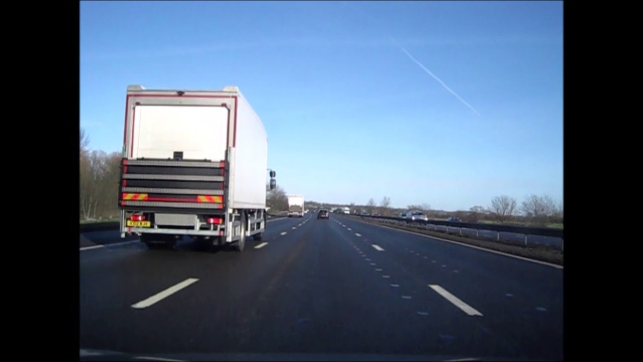 Driving on the M11 / M25 and M23