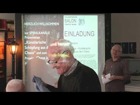 Vlado Franjević Spiralkanäle Künstlerische Schöpfung aus dem Chaos Philosophischer Salon Frankfurt