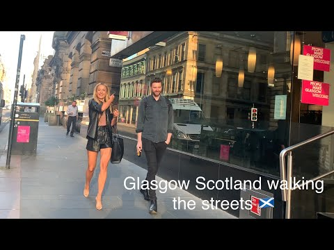 Glasgow Scotland 🏴󠁧󠁢󠁳󠁣󠁴󠁿 walking the streets 2020