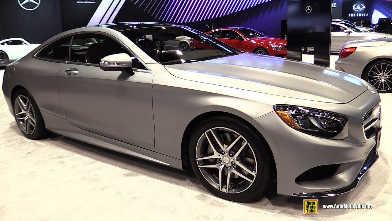 2016 mercedes s550 4matic coupe exterior and interior walkaround 2016 chicago auto show. Black Bedroom Furniture Sets. Home Design Ideas