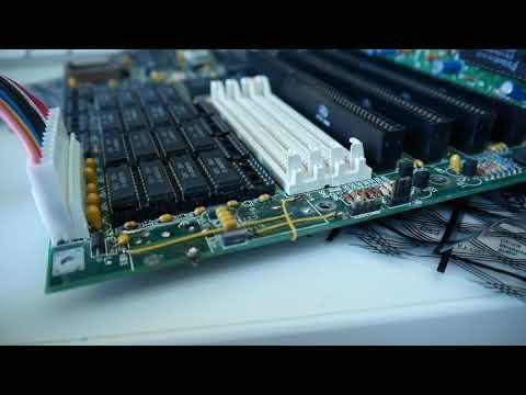 Soldering botch wires to battery acid damaged x86 board! [DIY]