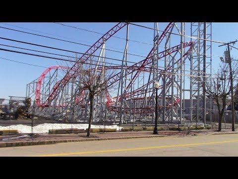 New Roller Coaster, Old Orchard Beach, March 31, 2018