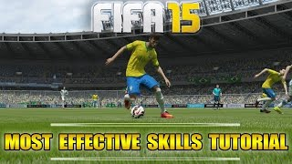 Fifa 16 (15) | Most effective Skills Tutorial | How & when to use which Skill | Tips & Tricks