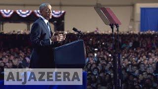 Barack Obama calls for unity in farewell speech