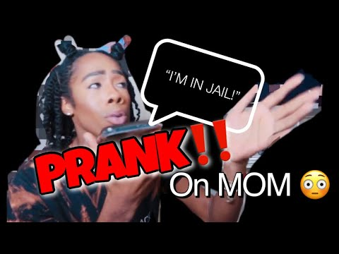 COLLECT CALL FROM JAIL PRANK ON MY MOM 😂 SHE DIDNT THINK ...