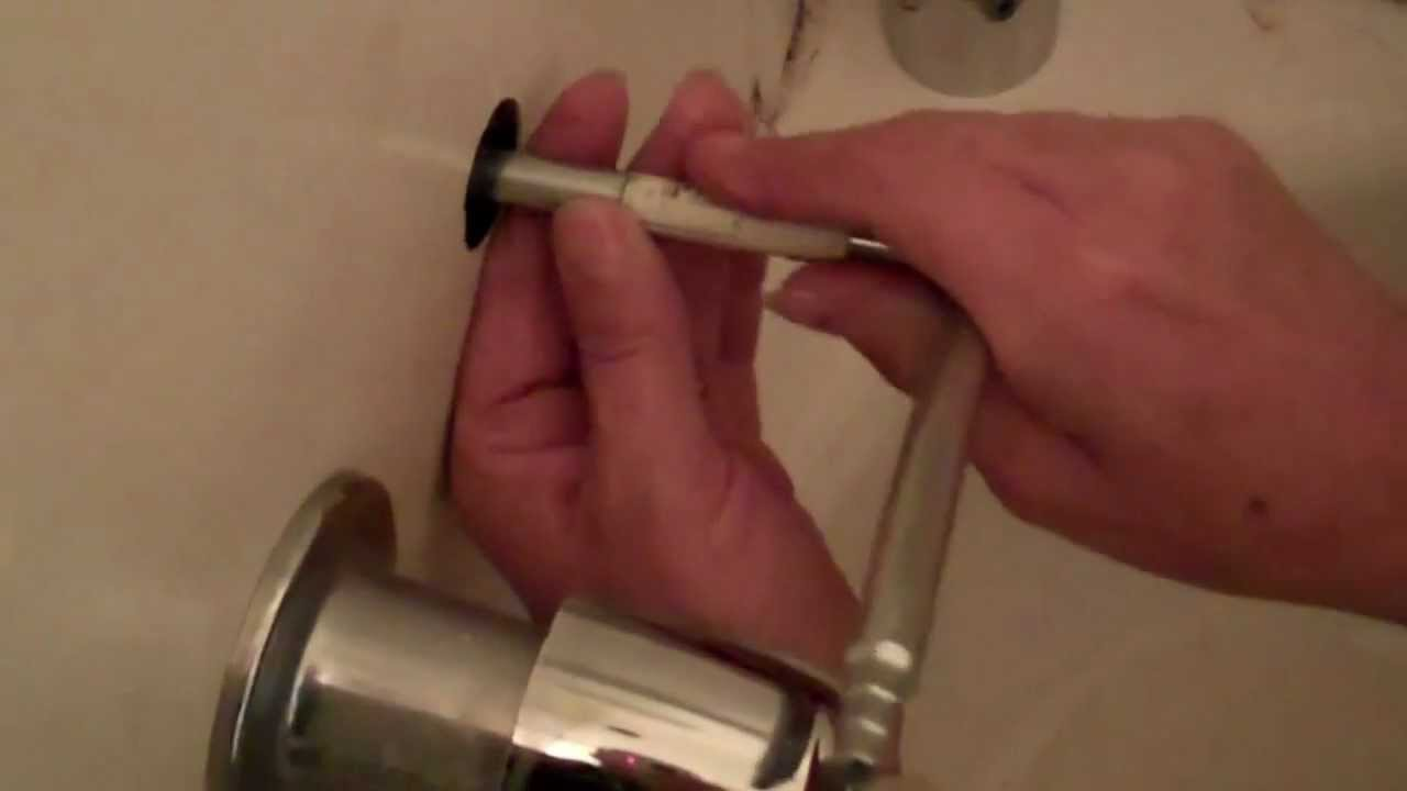Bathtub stem and seat replacement - YouTube