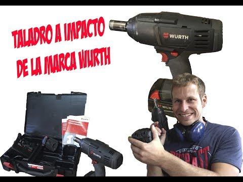 #WURTH - Taladro a impacto - una herramienta robusta pero pesada. Descubre la aquí.