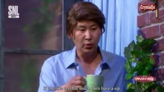 [Engsub] SNL KOREA - Breakfast at Tiffany's