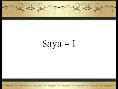 Learn Malay Language (Bahasa Melayu)