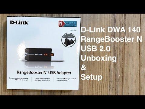 D Link DWA 140 RangeBooster N Unboxing & Setup