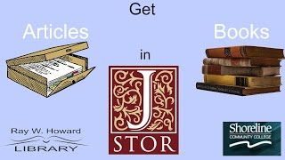 Get Articles & Books with JSTOR thumbnail