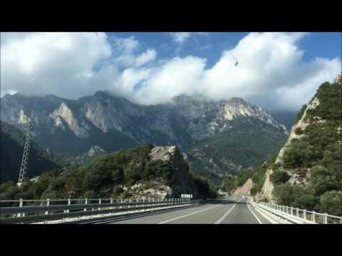 Health Tourism program in Principat d'Andorra アンドラ公国への道 2016年10月08日