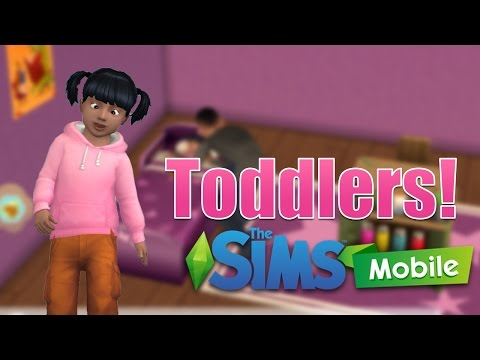 Let's Play the Sims Mobile  - From Baby to Toddler - Ep 7 - iOS Gameplay