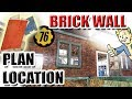 Brick Wall Plans Location - Fallout 76
