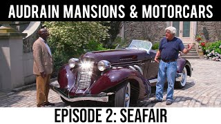Leno and Osborne in Audrain Mansions & Motorcars: Season 1 Episode 2: Seafair