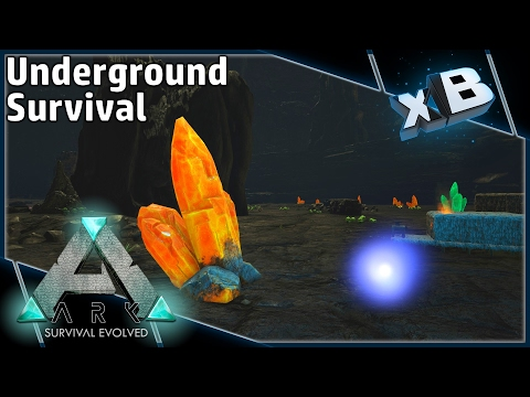 ARK: Underground Survival :: Part 1 :: 3 Life Challenge