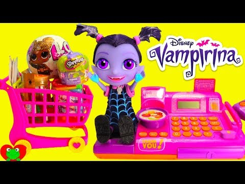 Vampirina Goes Shopping LOL Glitter Surprise Doll and Shimmer and Shine