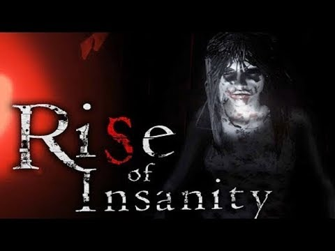 ХОРРОР RISE OF INSANITY –ВЕЧЕРНИЙ СТРИМ:) УЖАСТИКОВ НАМ НА НОЧЬ:)